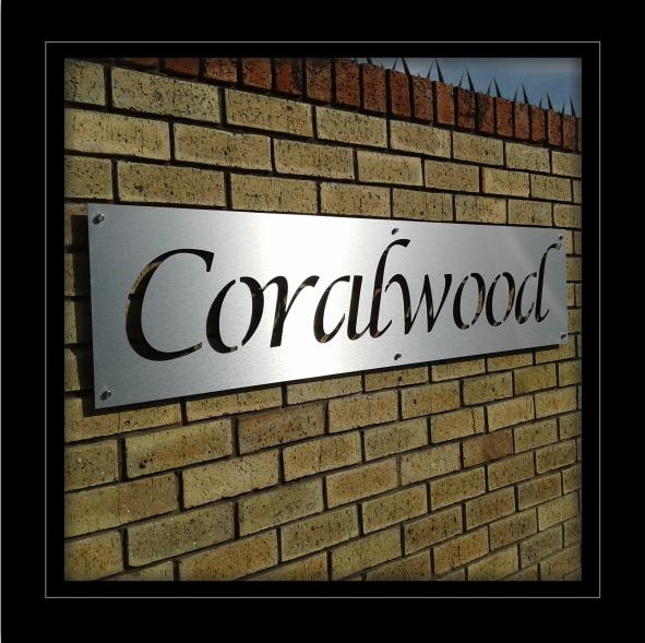 Coralwood Signage